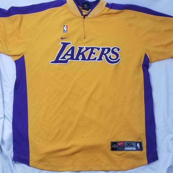 LA Lakers Kobe Bryant Warm Up Jersey Size XL